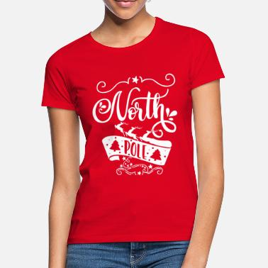 North Yorkshire North Pole white - Frauen T-Shirt