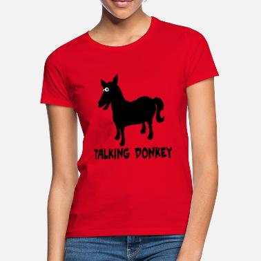 6ac427831ac talking donkey - Women  39 s T-Shirt