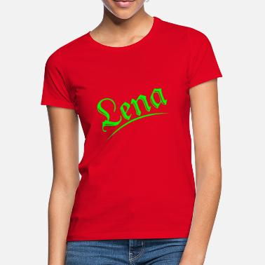 Name Lena T-Shirt Name First name Child Gift - Women's T-Shirt