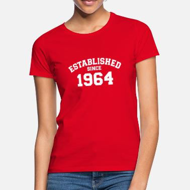 Established Established 1964 - Women's T-Shirt
