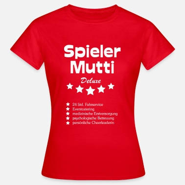 Handball Mutter Spieler Mutti Deluxe - Frauen T-Shirt