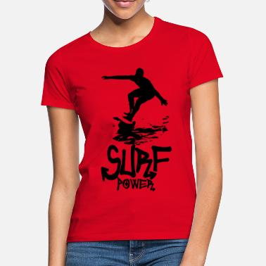 Surf power - Women's T-Shirt