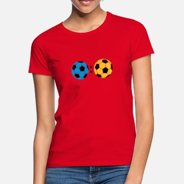 Tor ball : ball - Frauen T-Shirt