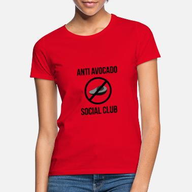 Sociale Anti-avocado sociale club - Vrouwen T-shirt