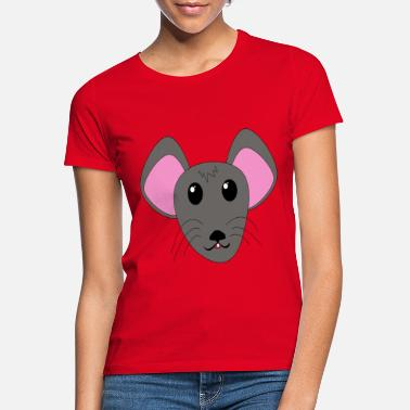 Mouse Mouse cute - Women's T-Shirt