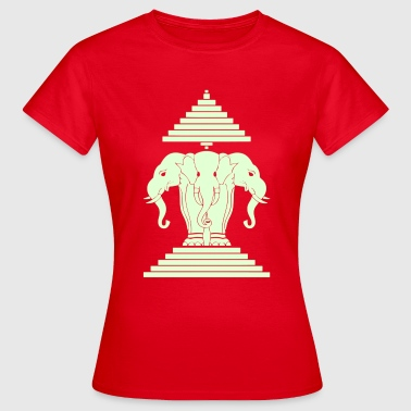 Erawan Lao / Laos Flag - Women's T-Shirt