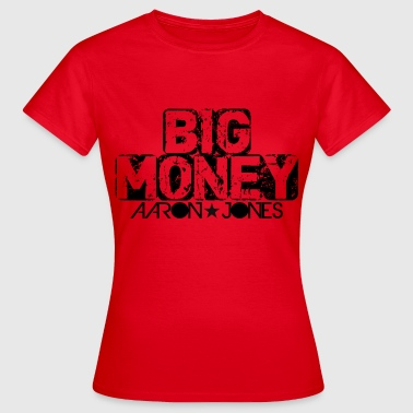 Big Money aaron jones - Frauen T-Shirt