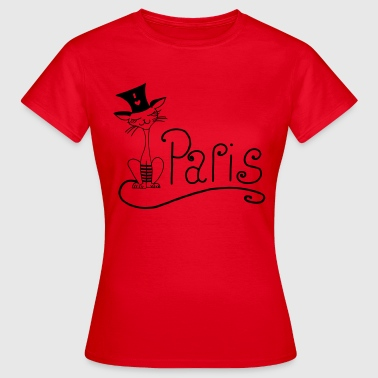 Cat Paris - Women's T-Shirt