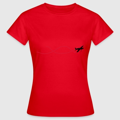 Aerobatics with roller - Women's T-Shirt