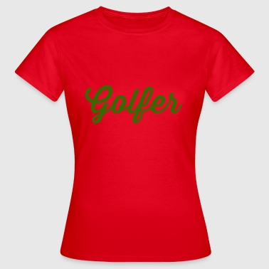 golfers - Women's T-Shirt