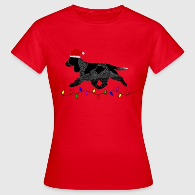 Cocker Spaniel (Blue Roan) Christmas - Women's T-Shirt