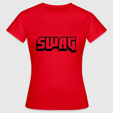 SWAG Transparent Black - Women's T-Shirt