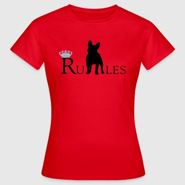 Bully regler! - Dame-T-shirt