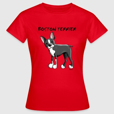 Funny Boston Terrier - Women's T-Shirt