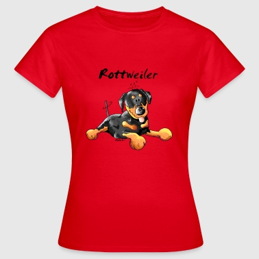 Sweet  Rottweiler - Dog - Dogs - Women's T-Shirt