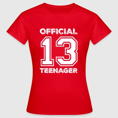 Official teenager 13th birthday gift - Women's T-Shirt