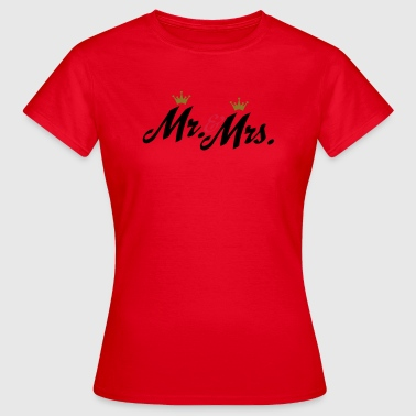 newlyweds - Women's T-Shirt