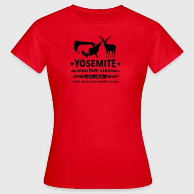 Yosemite National Park Kalifornien Bär Redwood - Frauen T-Shirt