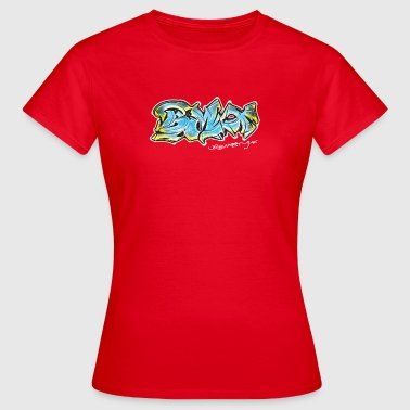 Urban Style Graffiti BMX - Women's T-Shirt