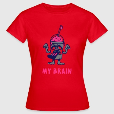 My Brain - T-skjorte for kvinner