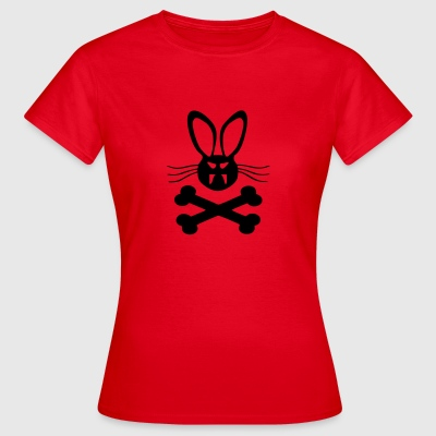 Killer_Rabbit_Hase_Helloween - Frauen T-Shirt