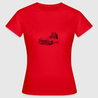Hasse's Cadillac - Vrouwen T-shirt