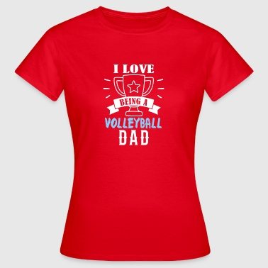 Volleyball dad - Women's T-Shirt
