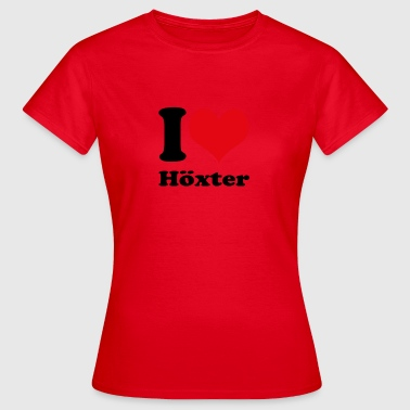 I love Höxter - Frauen T-Shirt