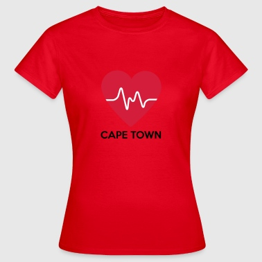 Heart Cape Town - Dame-T-shirt