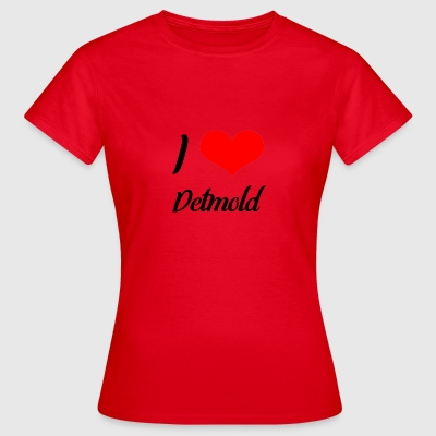 I love Detmold - Frauen T-Shirt