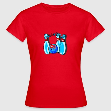 bowling - Women's T-Shirt