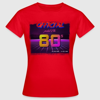 Official product of the 80's clothing - Women's T-Shirt