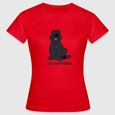 Sit Happens - Frauen T-Shirt