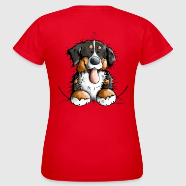 Happy Bernese Mountain Dog - T-shirt Femme
