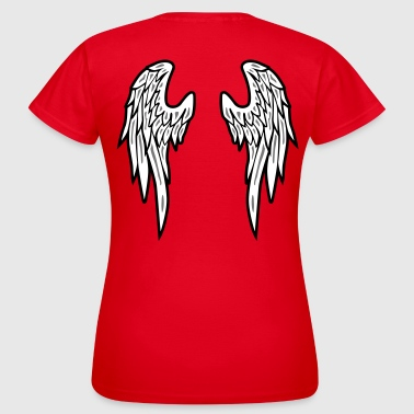 Angel Wings Feather - Vrouwen T-shirt