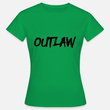 Outlaw Outlaw Outlaw - T-shirt dam