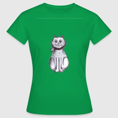Paola chaton assis - T-shirt Femme