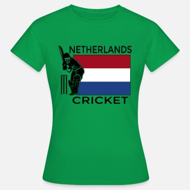 Gærdespiller Holland Cricket - Dame-T-shirt