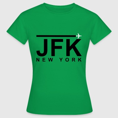 JFK Black - Frauen T-Shirt