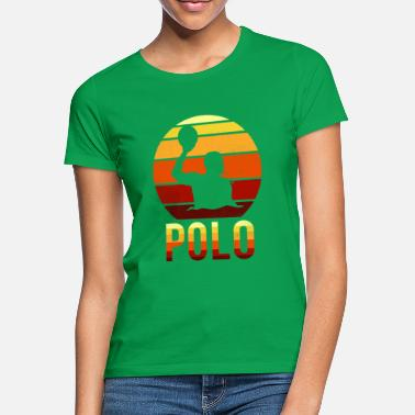 Water Polo Polo - water ball swimmer sport - Women's T-Shirt