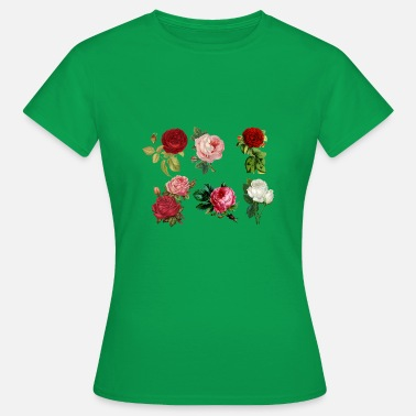 Ros rose - Dame-T-shirt