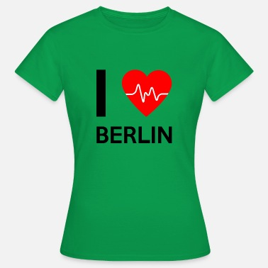 I Love Berlin Jag älskar Berlin - I love Berlin - T-shirt dam