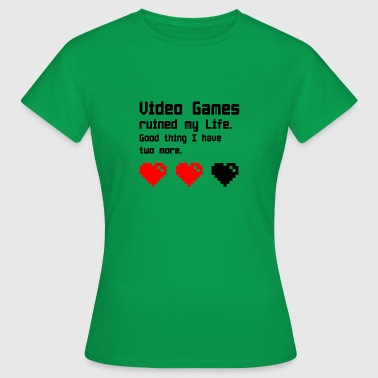 Funny Video Game video Games - Women's T-Shirt