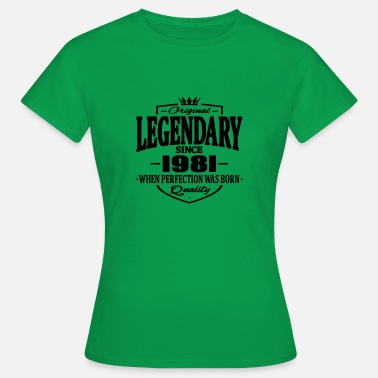 1981 Legendary sedan 1981 - T-shirt dam