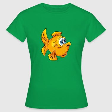 Fisch Cartoon Fisch Goldfisch comic Cartoon - Frauen T-Shirt