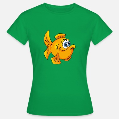 Goldfisch Fisch Goldfisch comic Cartoon - Frauen T-Shirt