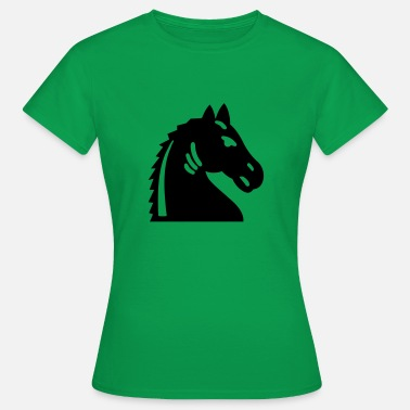 Black Knight Chess Black Knight - Women's T-Shirt