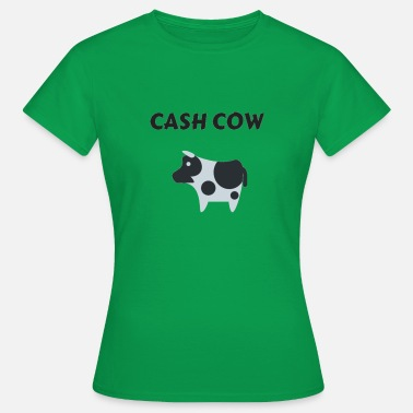 Cash Cow cash cow business economics - Women's T-Shirt