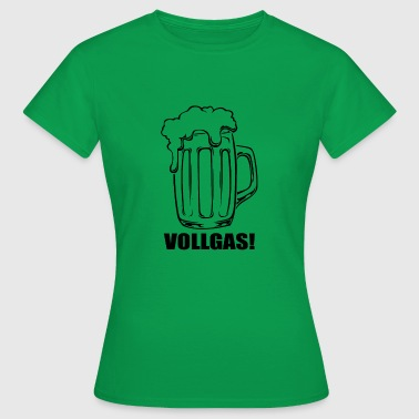 Bier Vollgas - Frauen T-Shirt