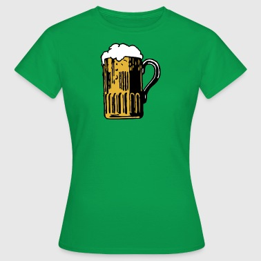 Beer Fucking Beer is fucking awesome - Women's T-Shirt